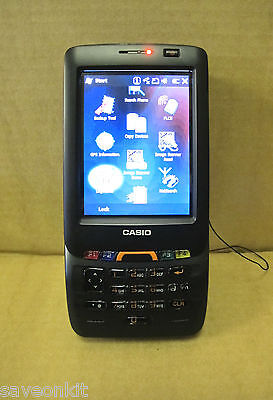 Casio IT-800RGC-35 Rugged Industrial Barcode Scanner Imager Camera Wireless GPS