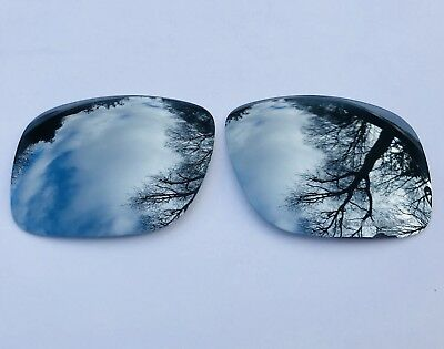 New Polarized Chrome Silver Mirrored Replacement Oakley Holbrook Lenses