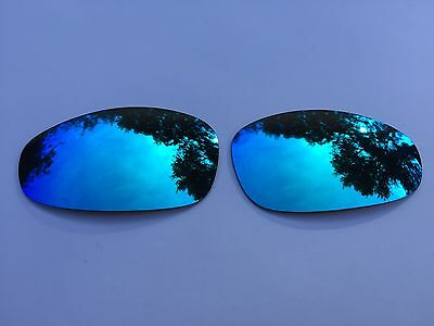 New Polarized Ice Blue Custom Mirrored Replacement Oakley Juliet Lenses