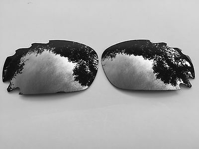 Replacement Chrome Silver Mirror Vented Oakley Jawbone & Racing Jacket Lenses