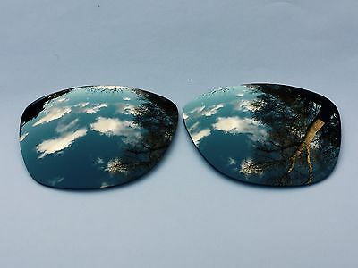 New Engraved Polarized Chrome Silver Mirrored Replacement Oakley Jupiter Lenses