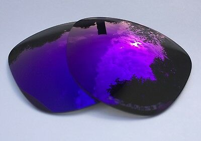 Etched Polarized Purple Mirrored Replacement Oakley Frogskins Lenses