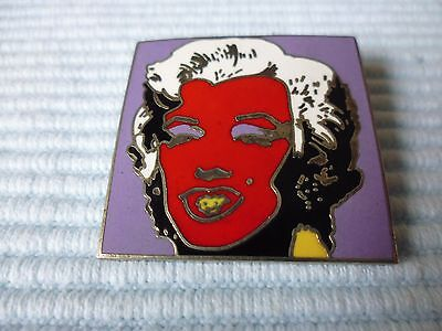 1 Andy Warhol emaillierte ACME Studio of LA Marilyn Monroe Pin Brosche POP Art a