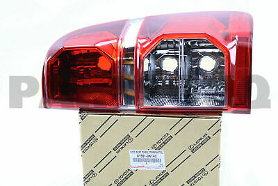 815510K140 Genuine Toyota LENS, REAR COMBINATION LAMP, RH 81551-0K140