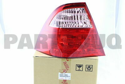 815611A890 Genuine Toyota LENS, REAR COMBINATION LAMP, LH 81561-1A890