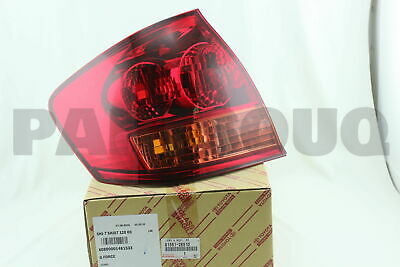 815612B510 Genuine Toyota LENS, REAR COMBINATION LAMP, LH 81561-2B510