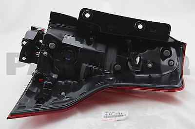 8156160841 Genuine Toyota LENS & BODY, REAR COMBINATION LAMP, LH 81561-60841
