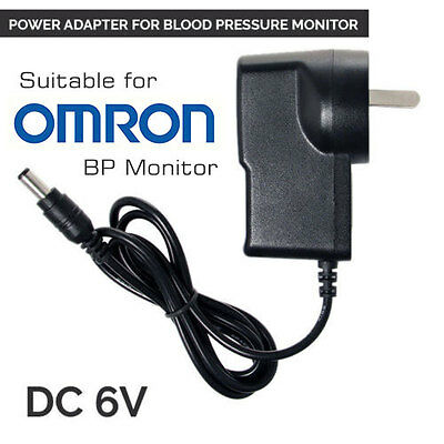 AC Power Adapter Charger for Ormon Digital Blood Pressure Monitor Upper Arm