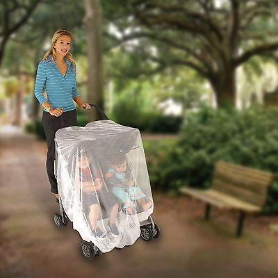 Nuby Double stroller netting - For tandem and side-by-side strollers