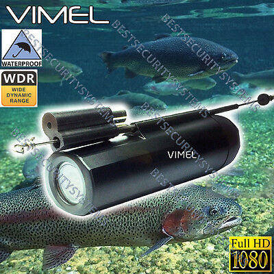 Fishing Video Camera Waterproof Under Water Recorder HD 1080 Line Finder Rod