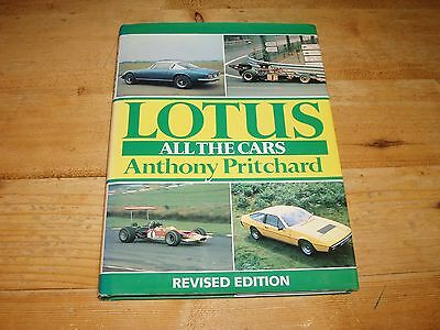 Lotus - All the Cars by Anthony Pritchard.