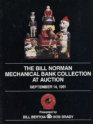 Antique Mechanical Banks - Collection at Auction / Scarce Illust. Book + Values
