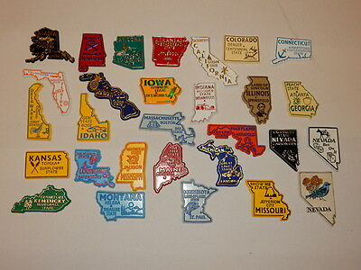 One Selected Rubber Souvenir Fridge Magnet from USA Selected State A to N