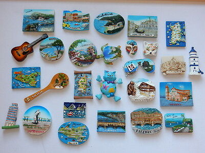One Selected 3D Souvenir Fridge Magnet from Italy