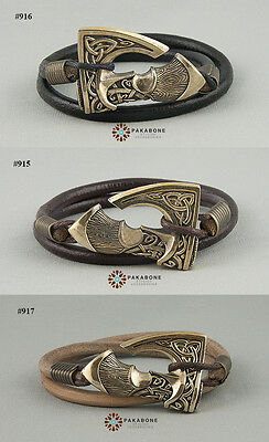 Bracelet With Axe Viking Axe Slavic Axe Perun's Axe Mens Womens Wristband
