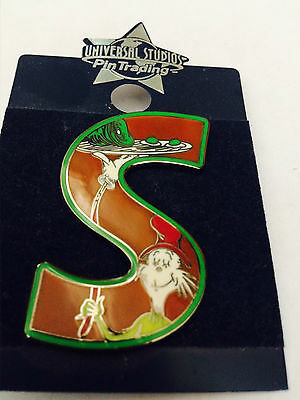 "Dr. Seuss, The Cat in Hat ""S"" pin"