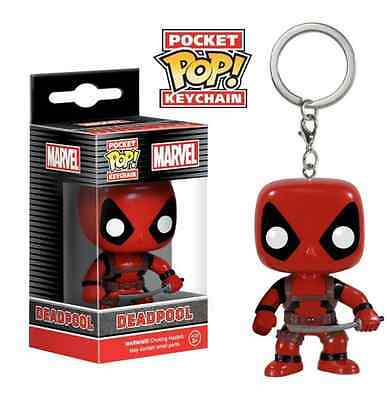 Funko Pop Keychains Superhero Pendant Deadpool Batman Dawn of Justice Gift Set
