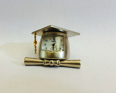 Graduation mini clock hat