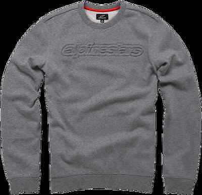 New Alpinestars Adult Mens Casual Recognized Hoodie Grey L
