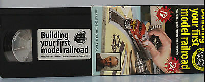 """Building Your First Model Railroad"""" VHS Published by Kalmbach"""