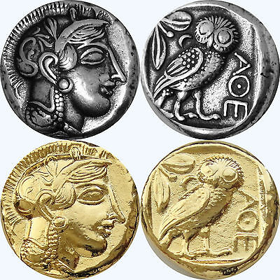 Percy Jackson Book Fans, 2Finishes,Athena Owl, Annabeth's Goddess Mother,12G+12S • CAD $17.71