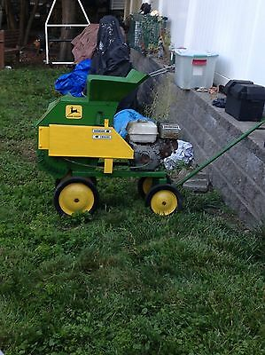 John Deer wood chipper