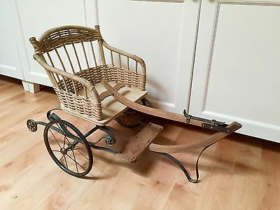 Victorian Goat/Dog/Doll Cart Early 1800s