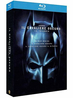 The dark knight trilogy [Blu-ray] - 3 Batman Filme in BluRay- NEU in Folie