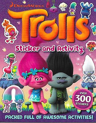 Trolls Sticker And Activity Book by Igloobooks