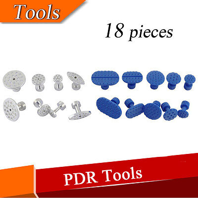 Car Body Panel Paintless Hail Repair Dent Glue Puller Tabs Pack of 18 Pieces