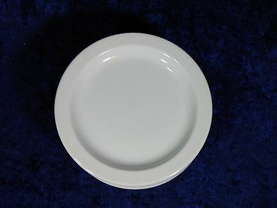 "Set Of 12 - Midwinter Stonehenge White 7-1/8"" Bread Plates - Near Perfect"