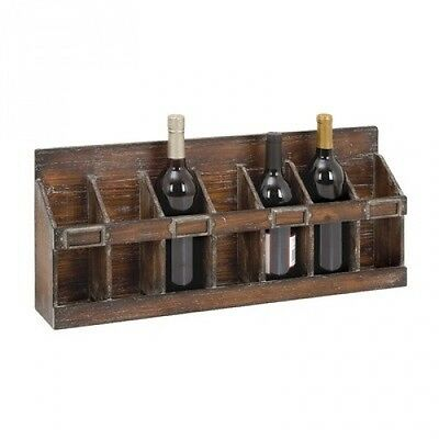 7 Bottle Wine Rack. Delivery is Free