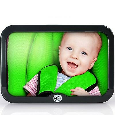 Best Baby Car Mirror - Attaches to Back Seat - Crystal Clear Reflection - Perfec