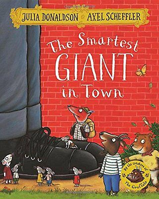 The Smartest Giant in Town - Book by Julia Donaldson (Paperback, 2016)