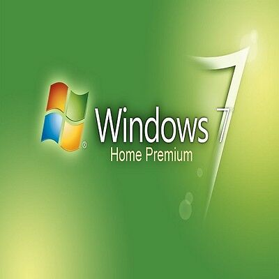 Barebone/Scarp PC with Genuine Windows 7 Home 32/64 bit COA Product Key