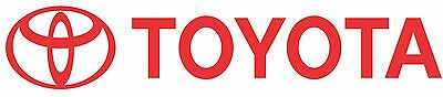 Toyota decal set of 2 car/trailer/fridge stickers 180mm x 35mm