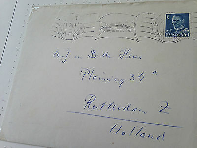 Denmark 2 special covers and postcard all with boat postmarks