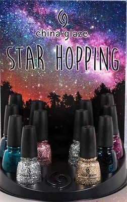 China Glaze Nail Polish Lacquer Star Hopping Collection 8 bottles