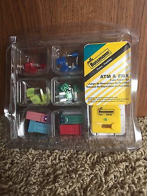 Cooper Bussmann ATM and FMX Fuse Emergency Kit New Sealed