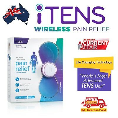 iTENS Large - New TENS Machine Massager / Wireless Professional Physio TENS Unit