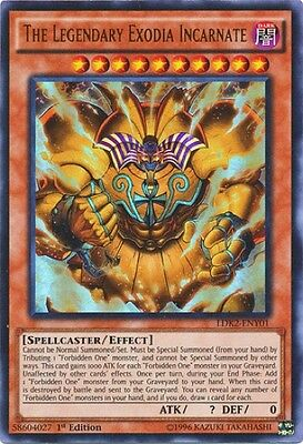 The Legendary Exodia Incarnate (LDK2-ENY01) - Ultra Rare - Near Mint - 1st Ed.