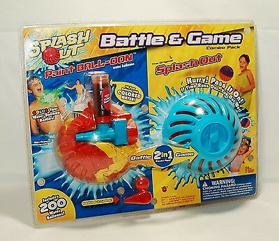 Splash Out Battle And Game Combo Pack
