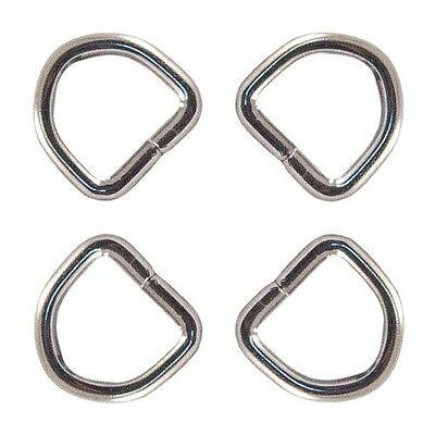 10 - Country Brook Design® 1cm NonWelded D-Rings. Free Delivery