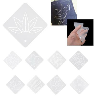 Acrylic Embroidery Template Quilt Stencils Patchwork Handmade Tools 12*12cm