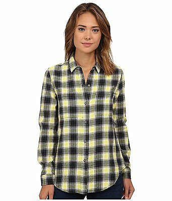 Vans Off The Wall Women's Adolescence Plaid Flannel Button Front Shirt