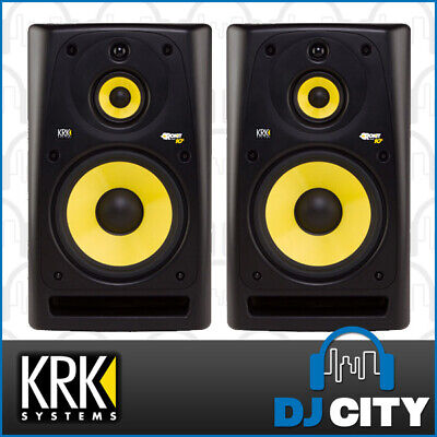 PK-ROKIT10G3 KRK 10 Inch Active 3-Way Studio Monitor Pair Great for Studio an...