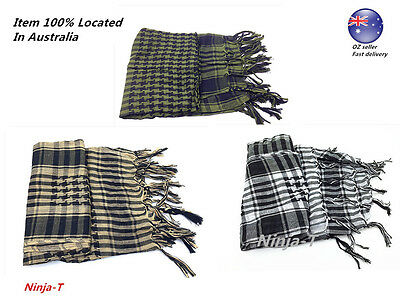 Tactical Scarf Military KeffIyeh Shemagh 110cm