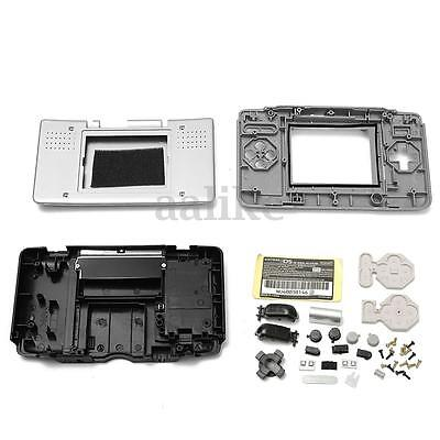 Replacement Housing Shell Case Cover Kit For Nintendo DS NDS Console Sliver New