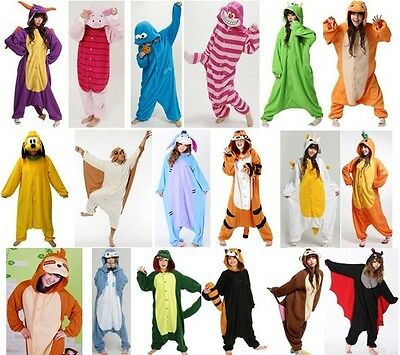 Unisex Adult Animal Onesies Onsie Kigurumi Pyjamas Anime Sleepwear Fancy Dress