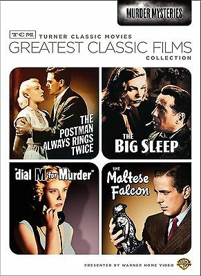 Greatest Classic Films:Murder Mysteries. 4 Greats. Brand New In Shrink!